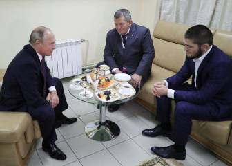 'I behaved with dignity' - Nurmagomedov tells Putin