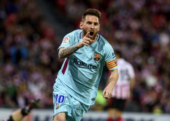 Athletic 0-2 Barcelona LaLiga Santander 2017: goals, as it happened, match report